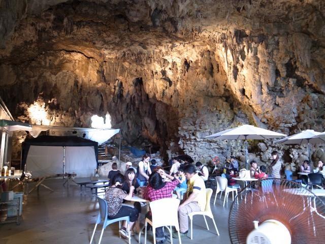 沖縄洞窟カフェ